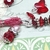 SWAROVSKI CRYSTAL Boho Gypsy Silk Sari Ribbon Bookmark RUBY | Book Readers Gift