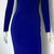 Hot Pink Pencil Dress Long Sleeve Hobble Dress Plus Size Bodycon Juicy Pink