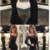 Sexy Mermaid Off-The-Shoulder Long Sleeves Black Long Prom Dress With Lace,2843
