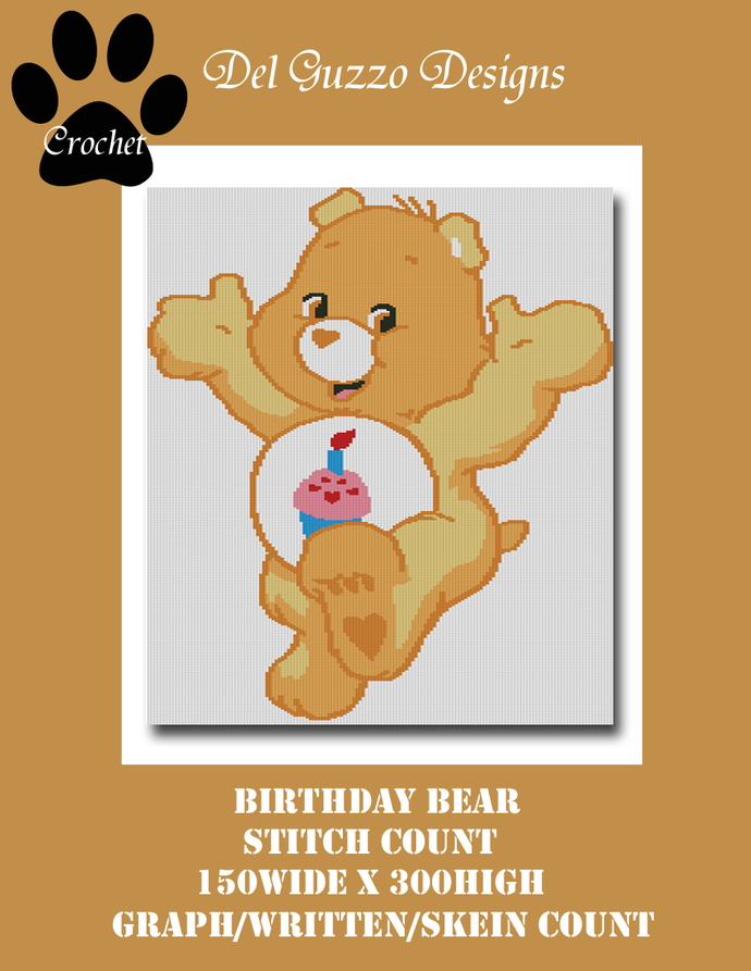 Care Bears Birthday Bear 150x300