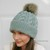 Slouchy Beanie Pattern, Cable Knit Hat Pattern, Cabled Hat Pattern, Hat Knitting