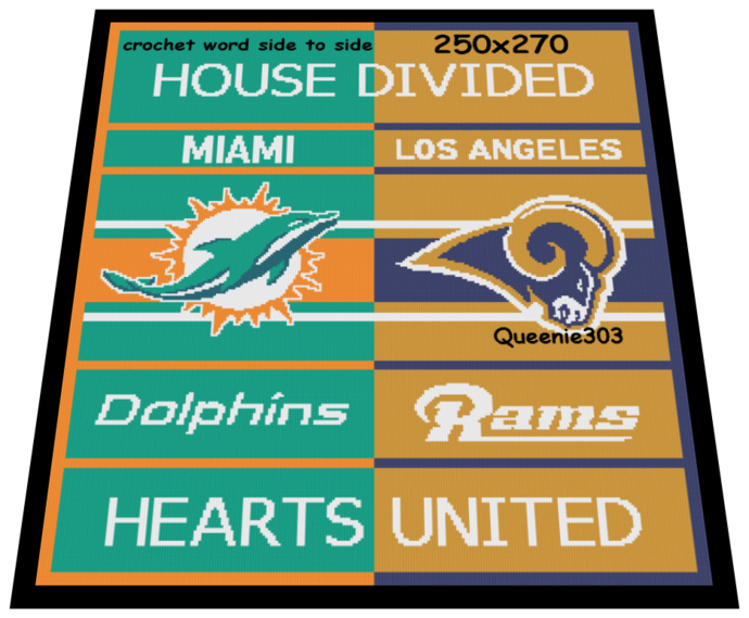 House Divided Dolphins Rams 250x270