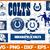 Indianapolis Colts svg, Indianapolis Colts digital, Indianapolis Colts