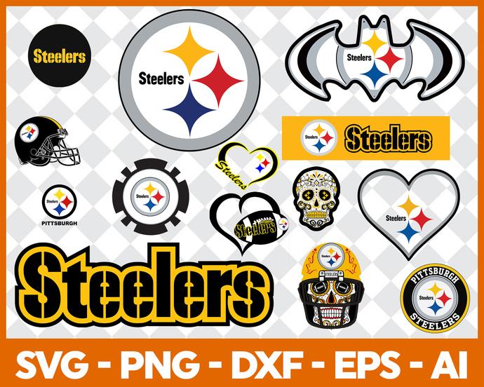 Pittsburgh Steelers svg, Pittsburgh Steelers digital, Pittsburgh Steelers