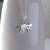 Sterling Silver Cat Charm Necklace