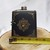Deer Flask Set Pocket Watch and Mini Tin Black n Bronze 50% Off Sale Stainless