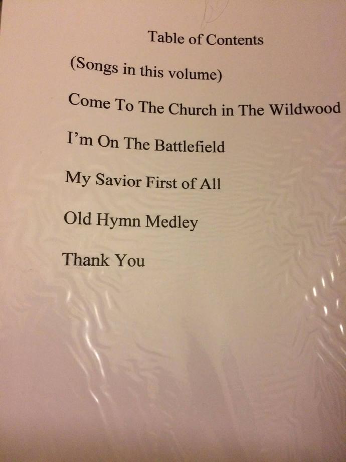 SAB Choir Volume with easy accompaniment .