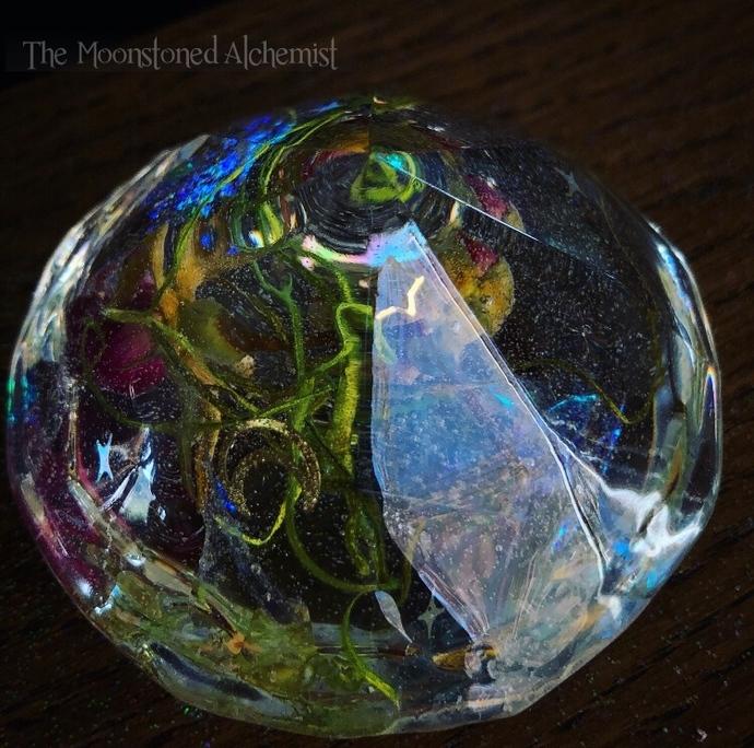 The World Tarot Botanical Diamond