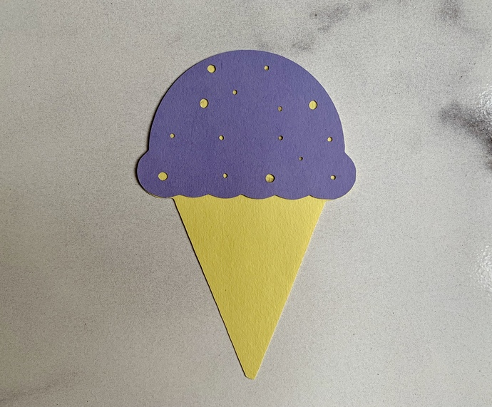 Ice Cream Cone Cards (Pack of 25)