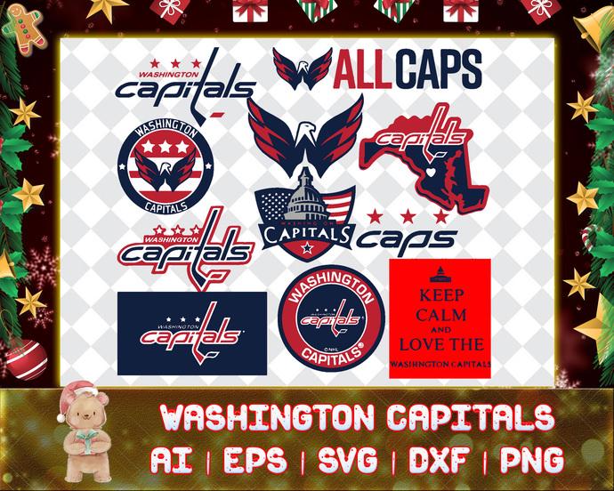 Washington Capitals svg, Washington Capitals digital, Washington Capitals