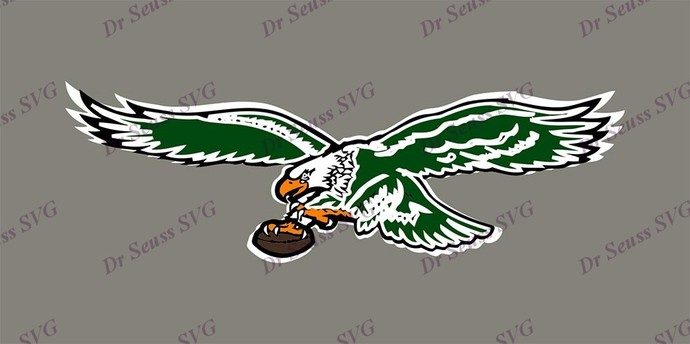 Philadelphia Eagles SVG 15, svg, dxf, Cricut, Silhouette Cut File, Instant
