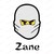 Zane Lego Ninjago SVG, svg, dxf, Cricut, Silhouette Cut File, Instant Download
