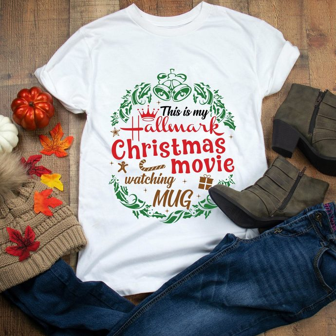 This is my hallmark christmas movie, watching mug,Christmas,  Christmas svg,