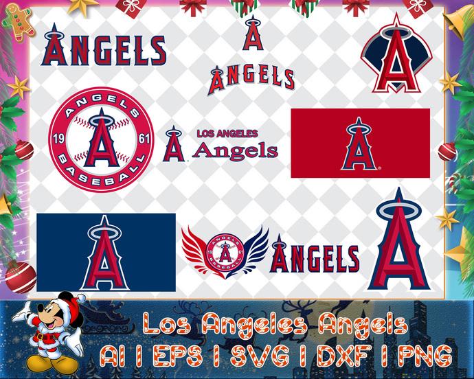 Los Angeles Angels svg, Los Angeles Angels digital, Los Angeles Angels