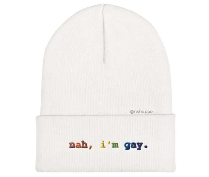 Nah I'm Gay Beanie