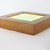 Zebra - wood & glass lighting sconce ambient lighting with remote control
