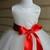 Ivory Tutu Dress, Flower Girl's Dress, Lace Satin and Tulle Dress
