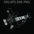 Guitar bass player   SVG PNG EPS DXF  Cricut Files, Silhouette, Sublimation