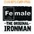 Iron , Female The Original Ironman   SVG PNG EPS DXF  Cricut Files, Silhouette,