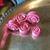 """STONE rose plugs stone gauges 2g thru 1"""" (1 pair) any size any stone"""