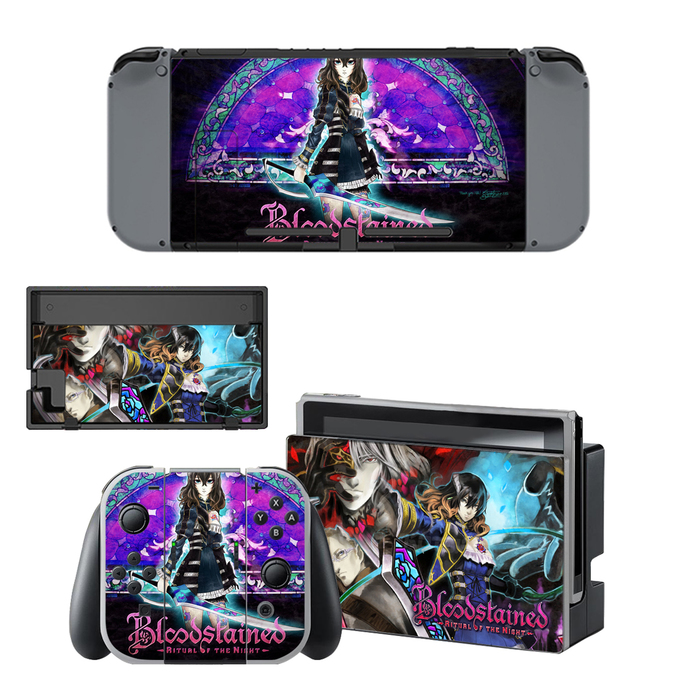 Bloodstained Ritual of the Night Nintendo Switch Skin for Nintendo switch