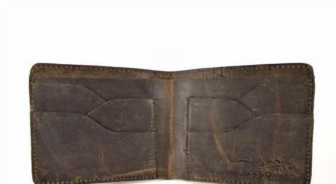 Leather wallet, Men's wallet, Cards wallet, Ventasso Coffee