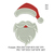 Santa Claus Embroidery Design, Santa embroidery pattern, christmas embroidery No