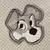 Tramp dog Feltie 4 pc uncut