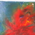 Abstract Red Rose painting,  acrylic on canvas wall art by RainbowMaille