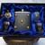 Flask Set and Pocket Watch plus Money Clip Artisan Skulls Design Gift Set in Box