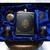 Flask Set and Pocket Watch plus Money Clip Artisan Dragon Design Gift Set in Box