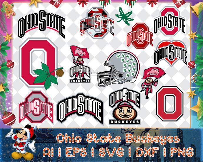 Ohio State Buckeyes svg, Ohio State Buckeyes digital, Ohio State Buckeyes