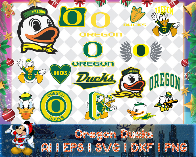 Oregon Ducks svg, Oregon Ducks digital, Oregon Ducks silhouette cut files,