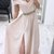 Off The Shoulder Long Evening Dress with Crystal Belt,Long Prom Dress With Side