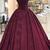 Off-Shoulder Ball Gown Appliques Prom Dresses With Cap Sleeves,Corset Party