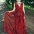 Unique Burgundy Prom Dresses V Neck Straps Long Lace Appliques Party Dresses