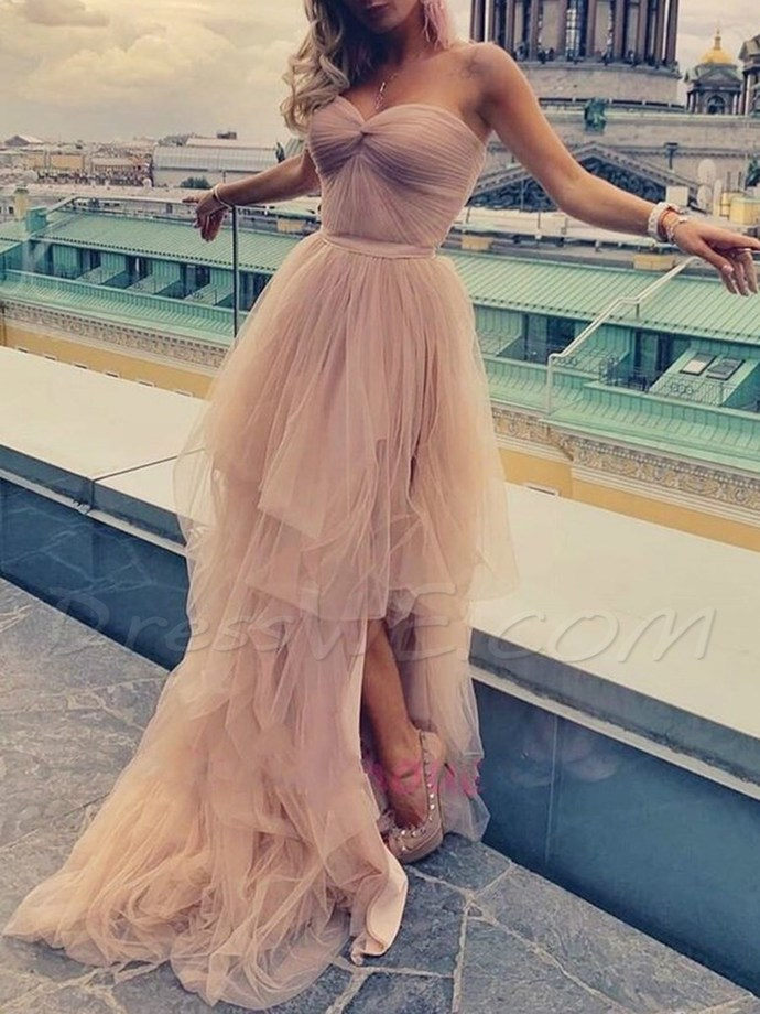 Charming Tulle Evening dress 2020 Prom Dresses Evening Dress G5265