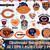 Chicago Bears svg, Chicago Bears digital, Chicago Bears silhouette cut files,