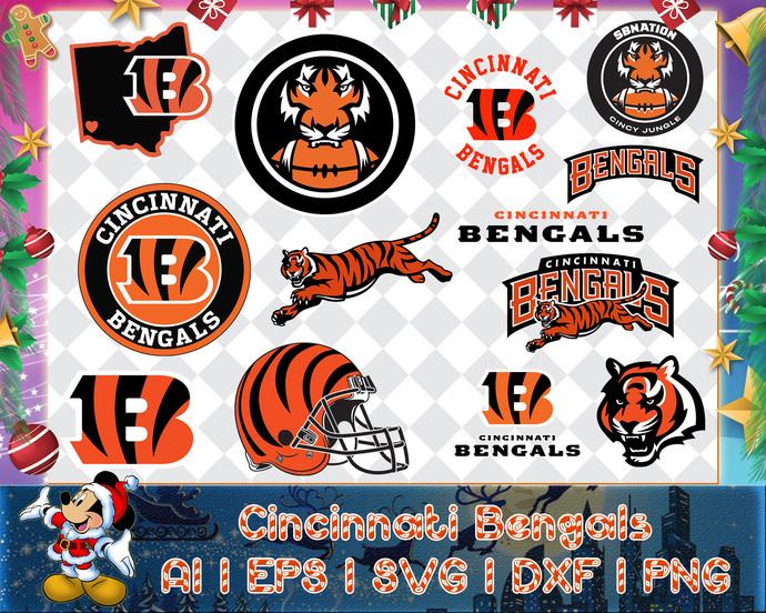 Cincinnati Bengals svg, Cincinnati Bengals digital, Cincinnati Bengals