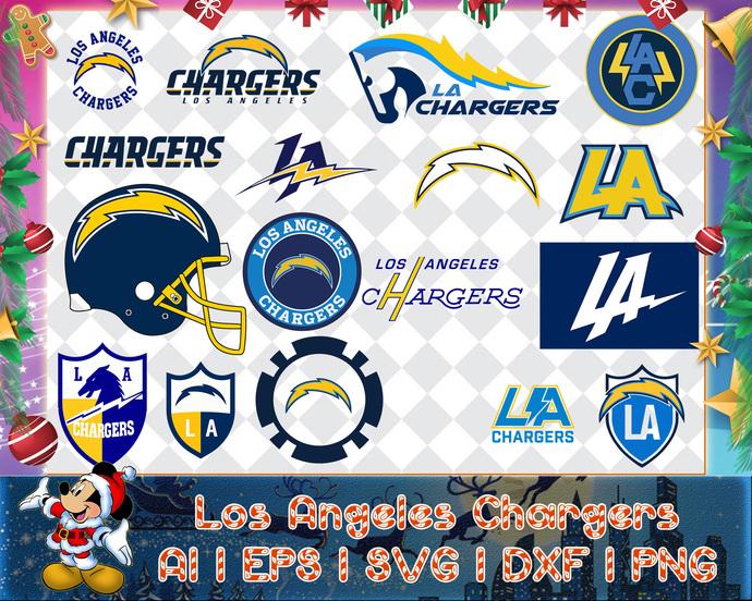 Los Angeles Chargers svg, Los Angeles Chargers digital, Los Angeles Chargers