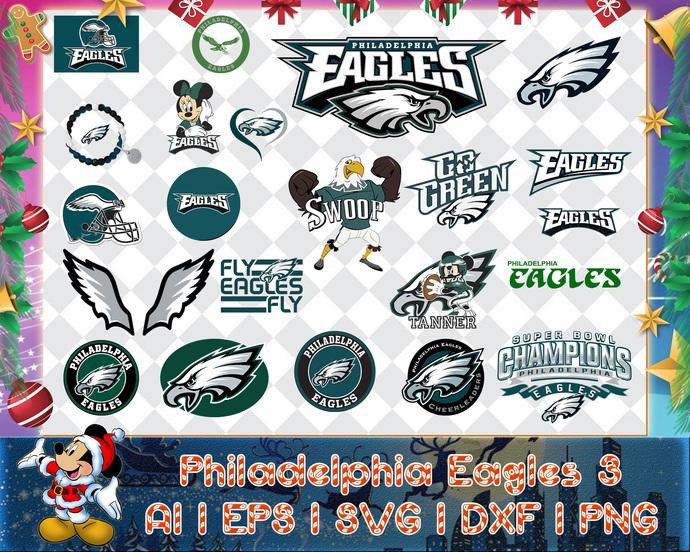 Philadelphia Eagles 3 svg, Philadelphia Eagles 3 digital, Philadelphia Eagles 3