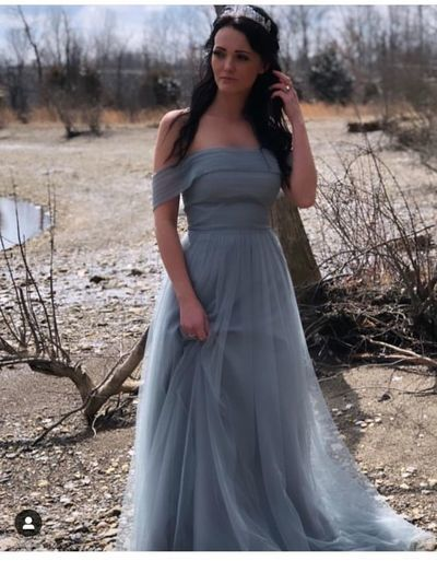 Charming Prom Dress,Tulle Prom Dress,A-Line Prom Dresses