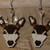 Doe And Buck Earrings Hand Made Seed Beaded Bead Work
