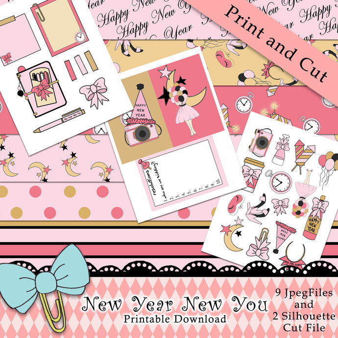 """New Year New You"" Printable Download"