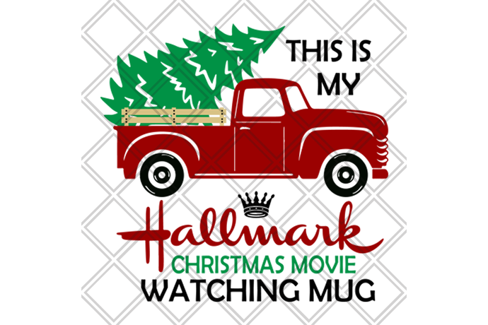 This is my hallmark christmas movies watching mug, hallmark svg, hallmark gift,