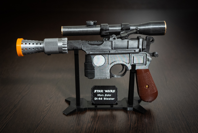 Han Solo Blaster DL-44 | Star Wars Replica | Star Wars Props | Star Wars Cosplay