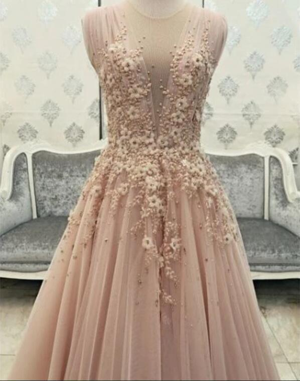 Sexy Evening Gowns,Pink Prom Dress, Pageant Prom Gown, Evening Gowns P2213