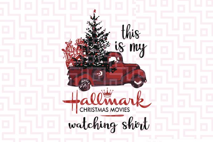 This is my hallmark christmas movie watching shirt, hallmark svg, hallmark gift,