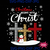 Christmas Begins With Christ, Costume Xmas, Christian Leopard Cross SVG,
