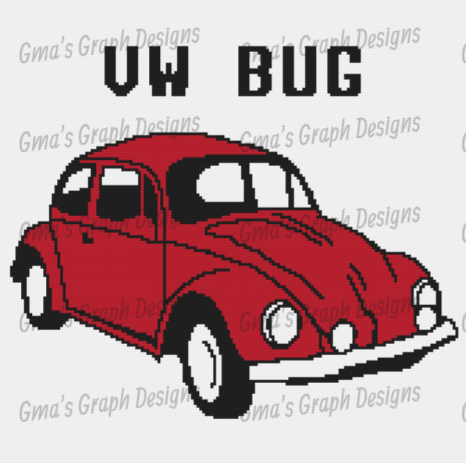 VW Bug Throw